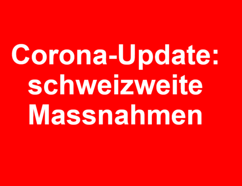 Corona-Update: Massnahmen des Bundesrats
