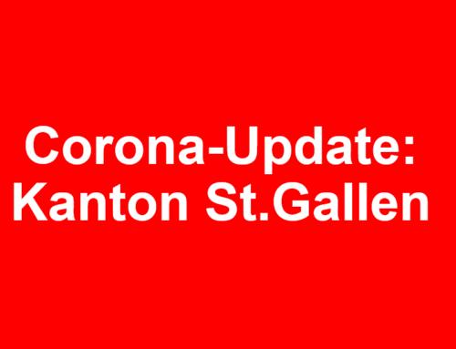 Corona-Update: Kanton St.Gallen
